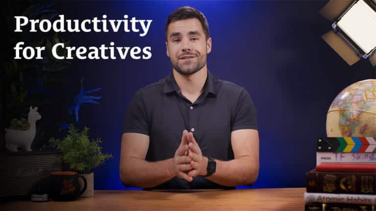 Productivity for Creatives - Skillshare class by Thomas Frank