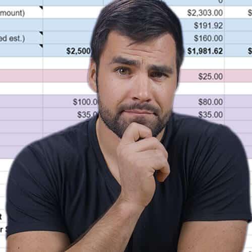 Thomas Frank's Budget Modeler