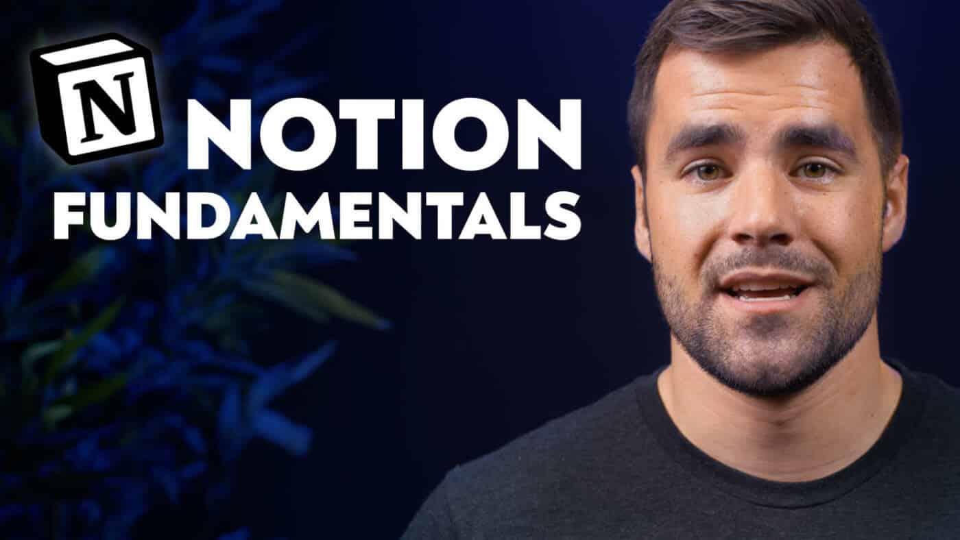 Notion Fundamentals Course Thumb