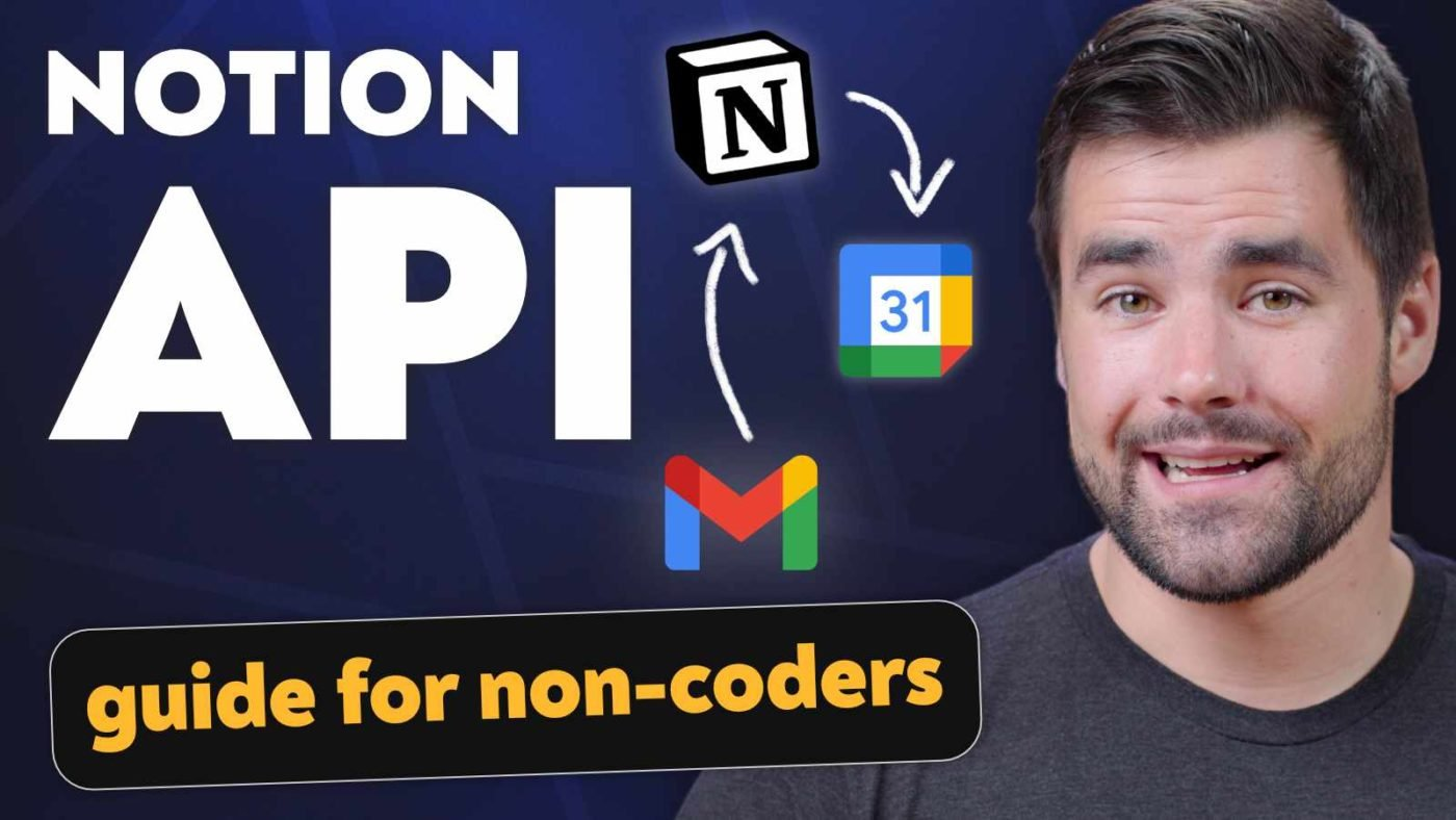 Notion Official API Guide - How to Connect to 3,000+ Apps (with No Coding)